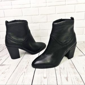 Aldo Cathrina Leather Ankle Booties